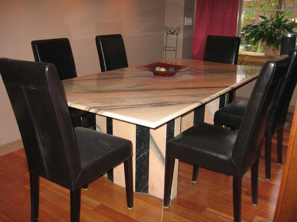 Marble Top Dining Room Sets Tables Stunning Table Diy