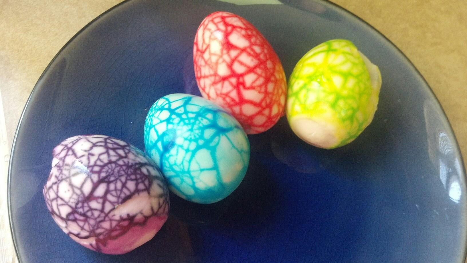 Marbled Easter Eggs Ambition