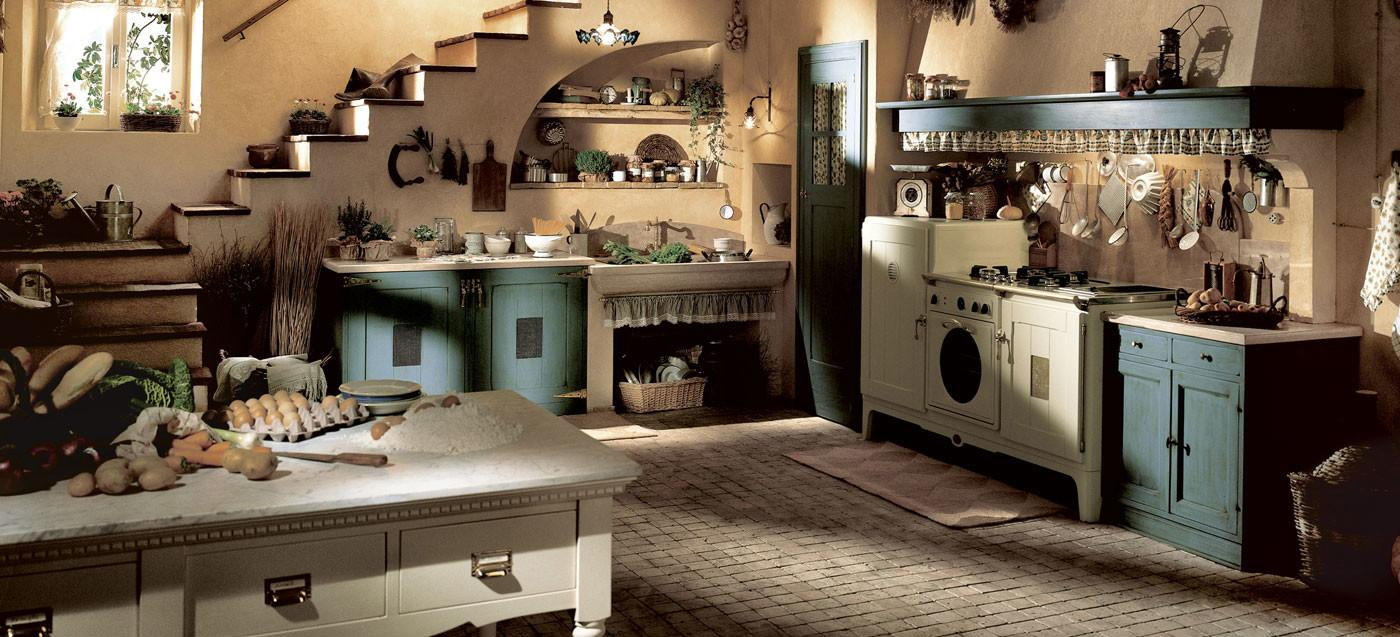 Marchi Group Kitchen Doria Modular Country Style