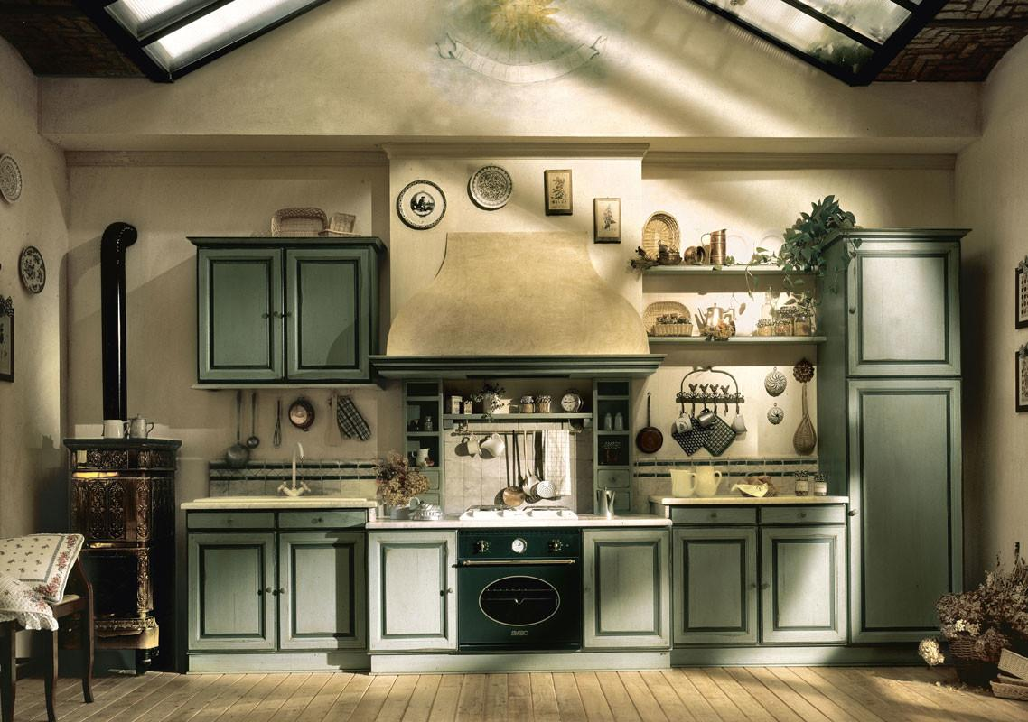 Marchi Group Provencal Country Style Kitchen