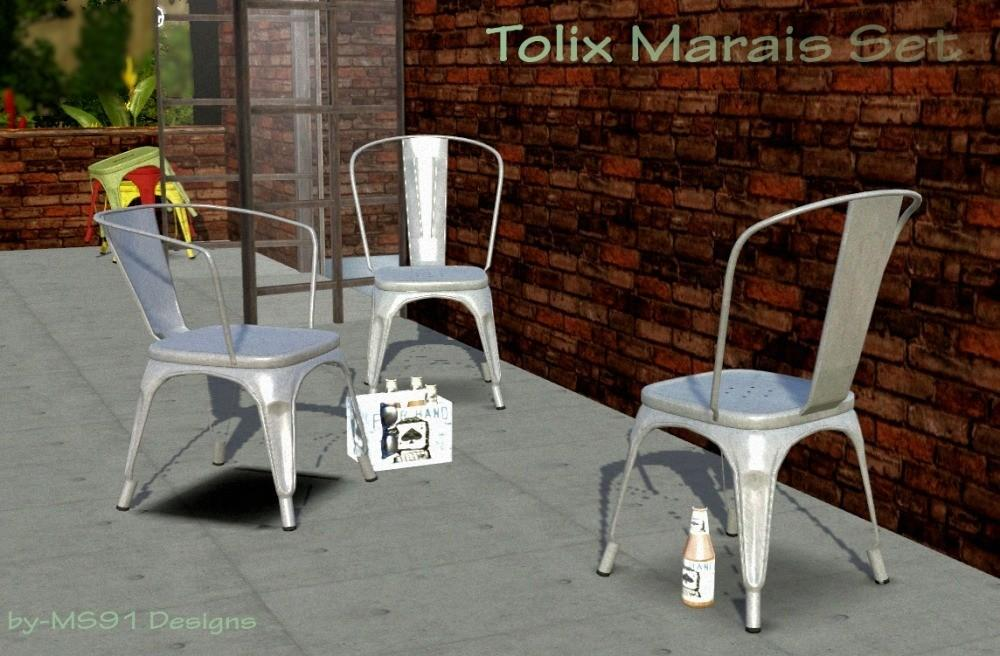 Marcussims91 Tolix Marais Set Dining Chairs