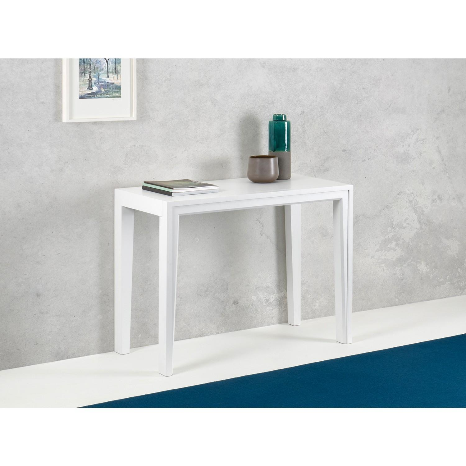 Margot Space Saving Wooden Hall Table Arredaclick