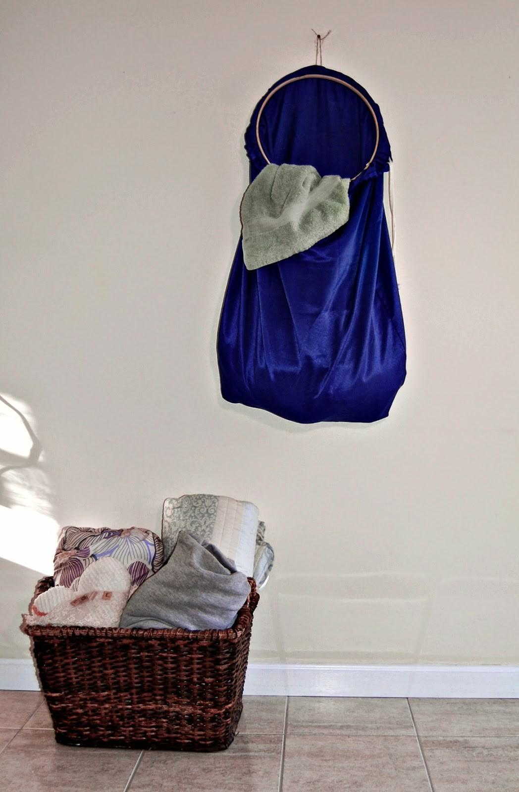 Marie Diy Designs Easy Hanging Laundry Bag