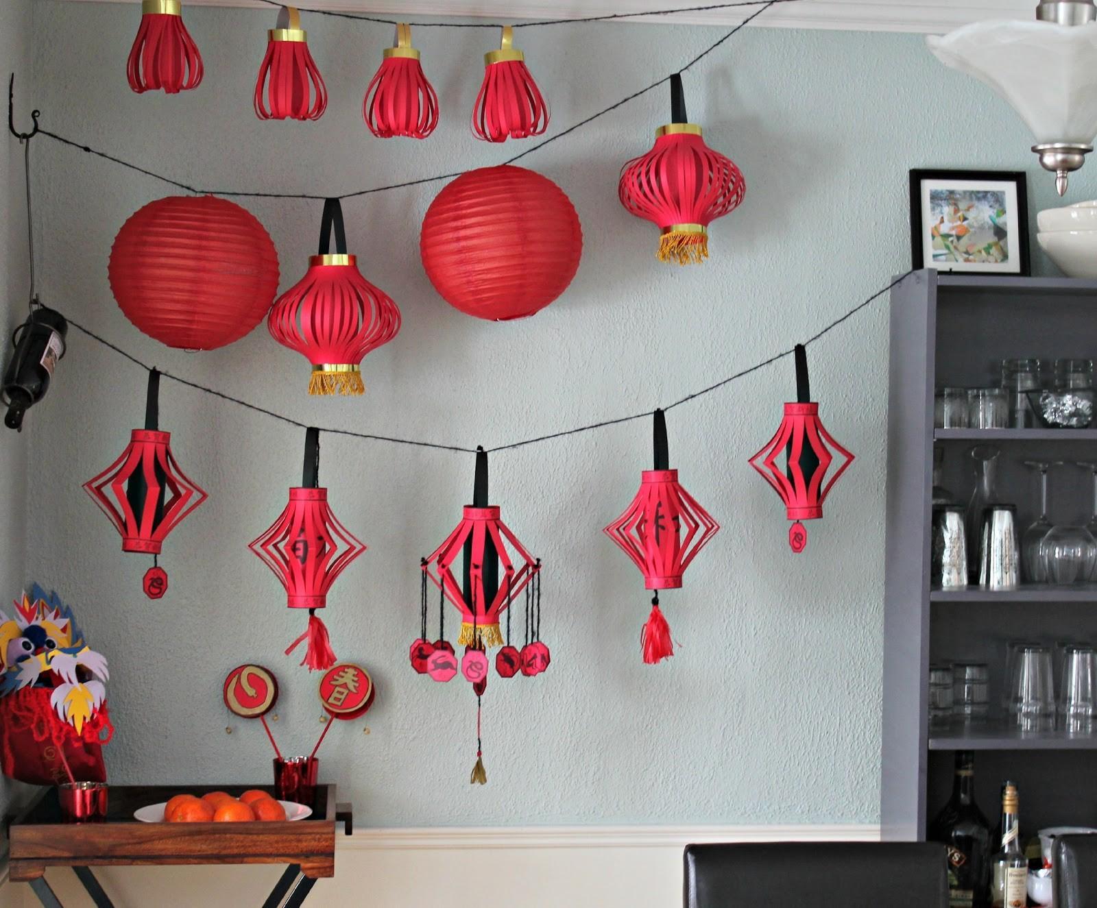 Marie Pastiche Chinese New Year Lanterns