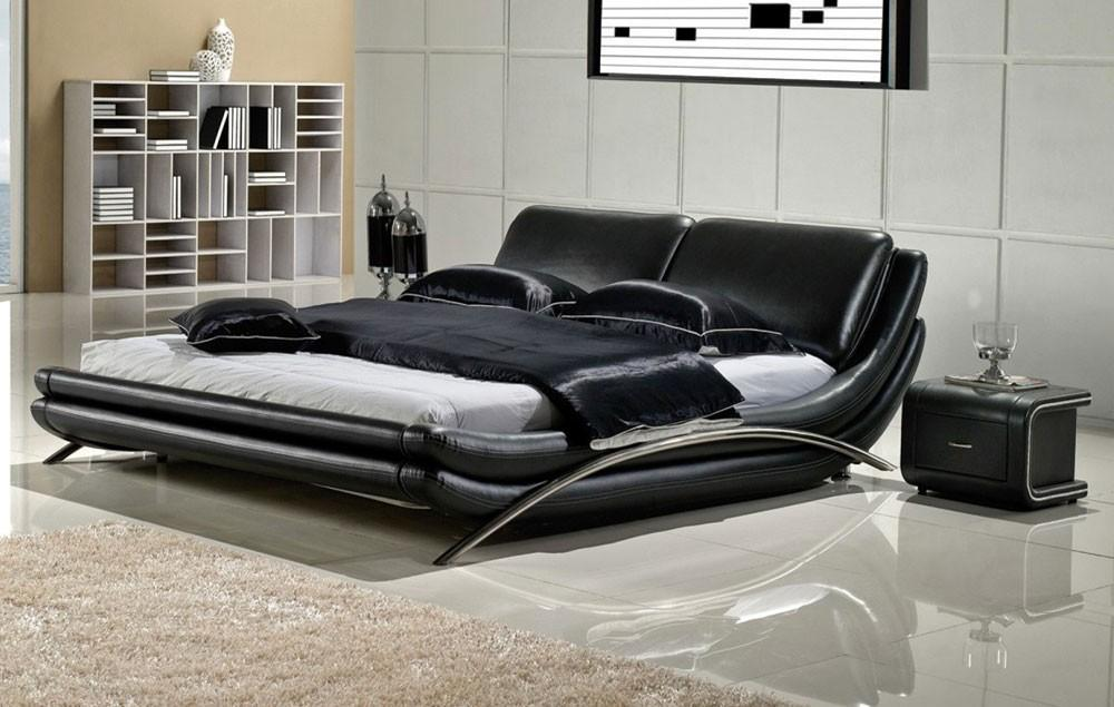 Marino Modern Low Profile Platform Bed Set