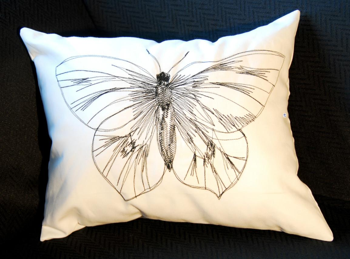 Mark Montano Butterfly Doodle Pillow