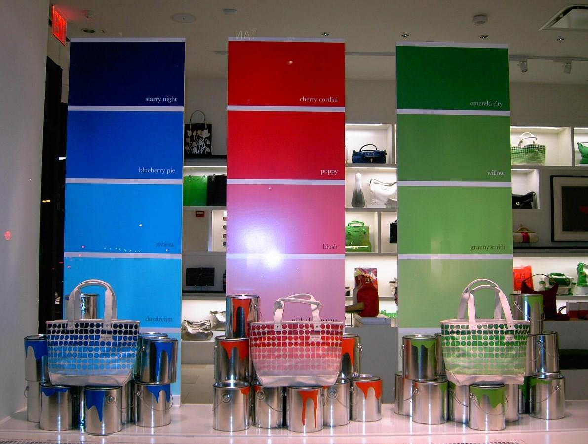 Marmie Life Paint Color Window Display Inspiration