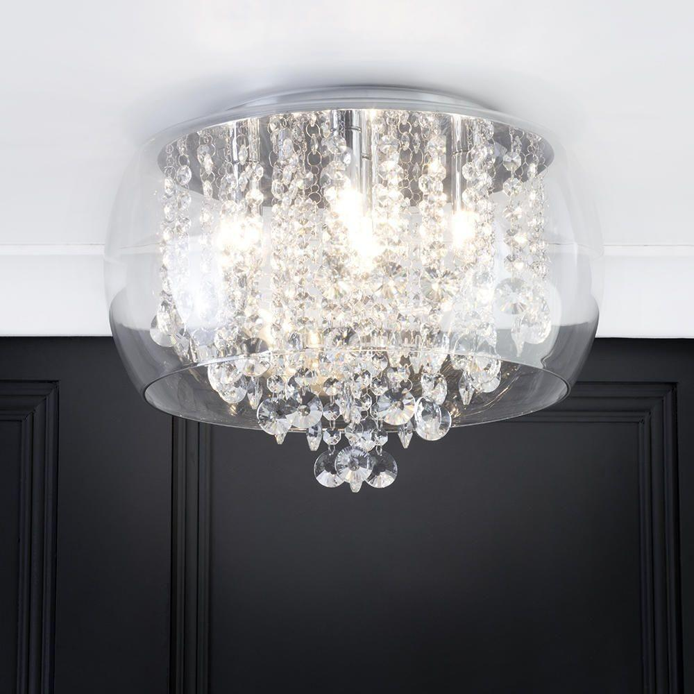 Marquis Waterford Nore Led Small Encased Flush
