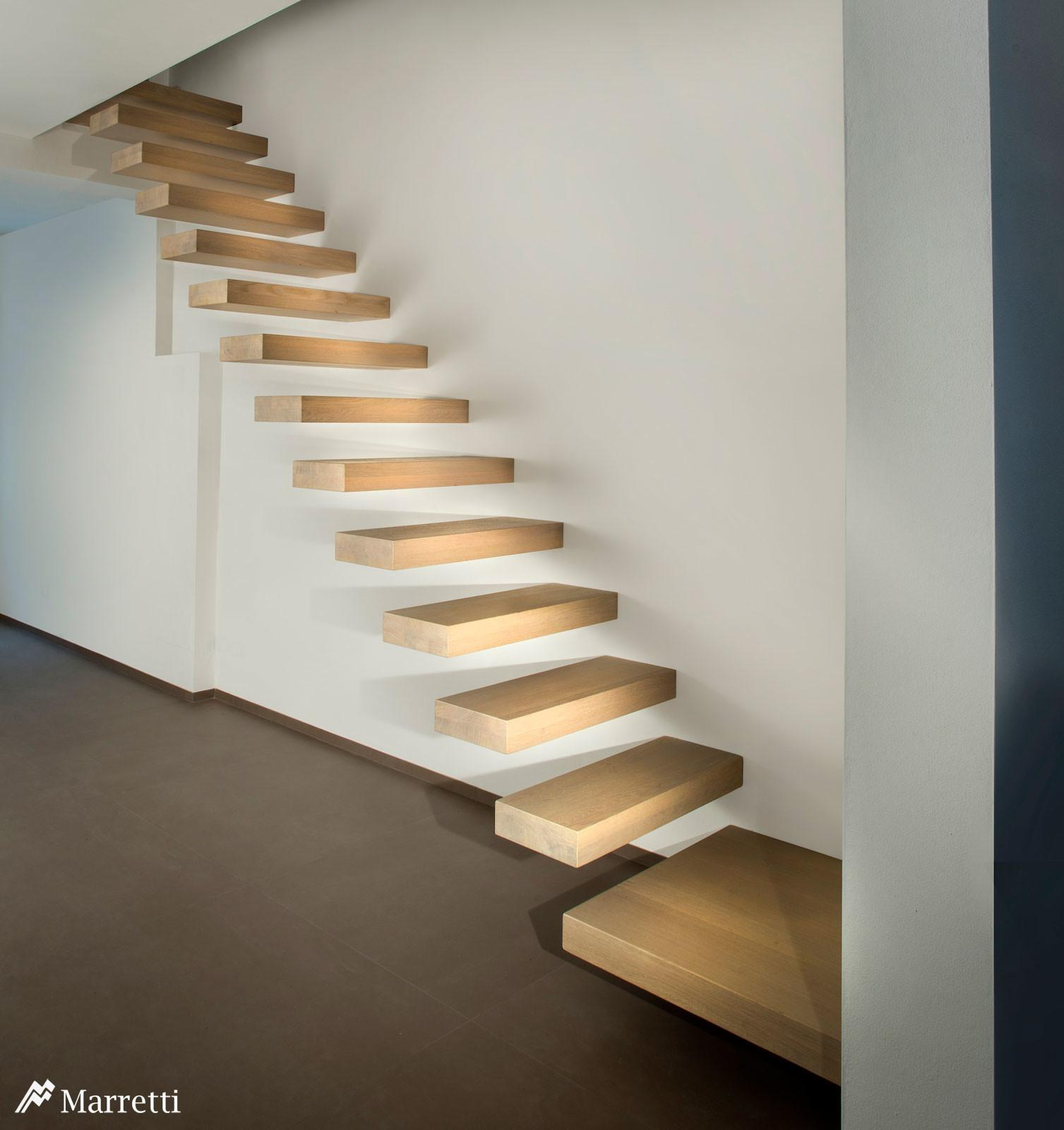 Marretti Srl Hanging Staircases Cloud Internal