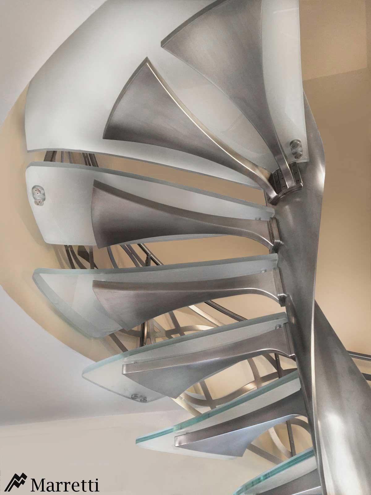 Marretti Srl Helical Spiral Staircases