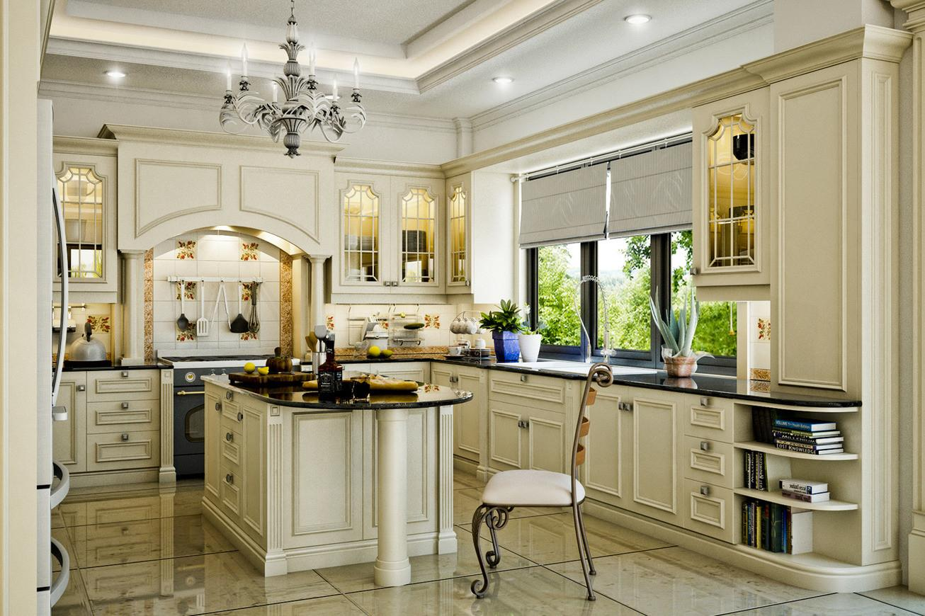 Marvelous Classic Kitchen Designs Small