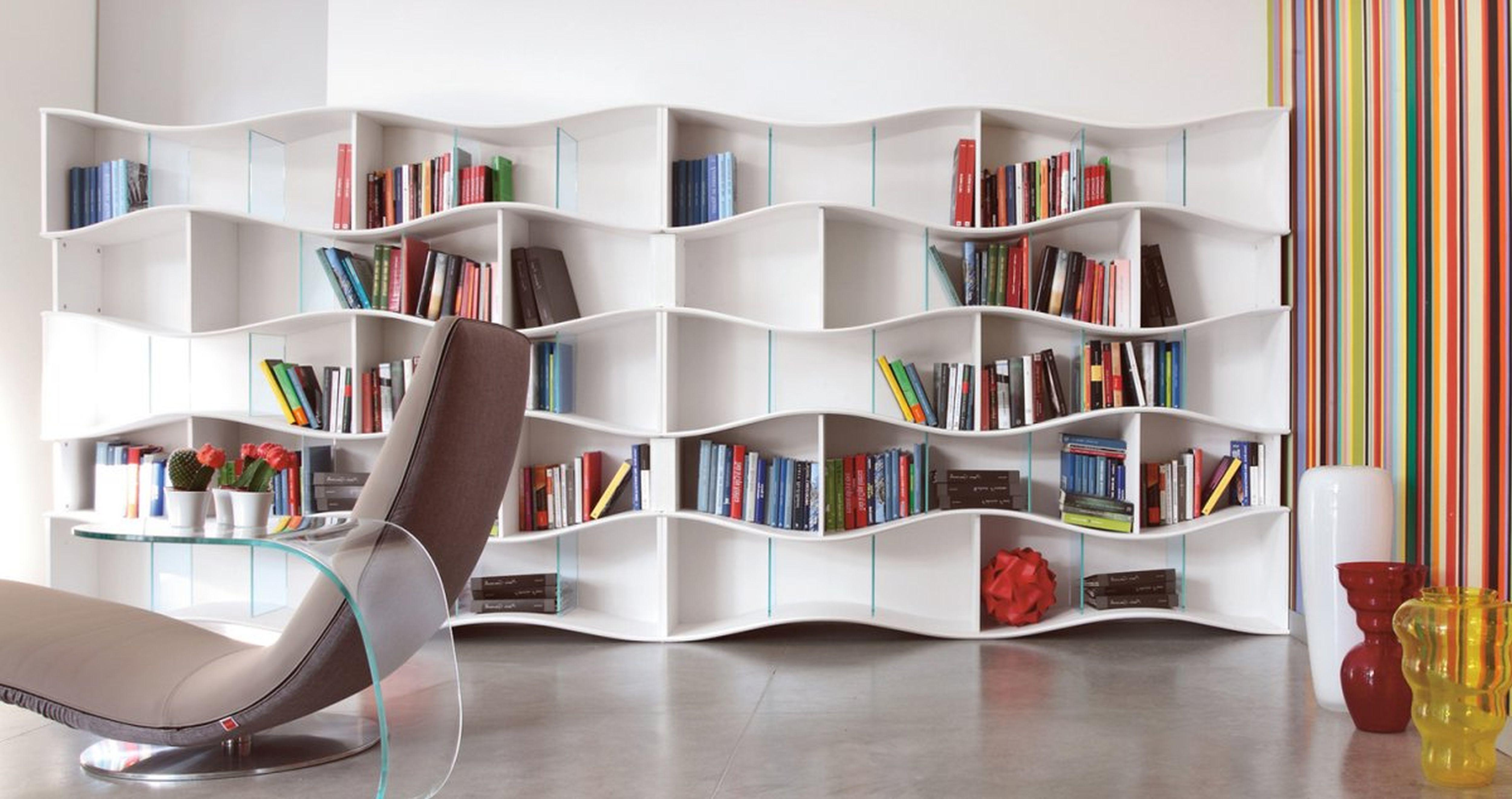Marvelous Home Library Interior Design Wall Wooden