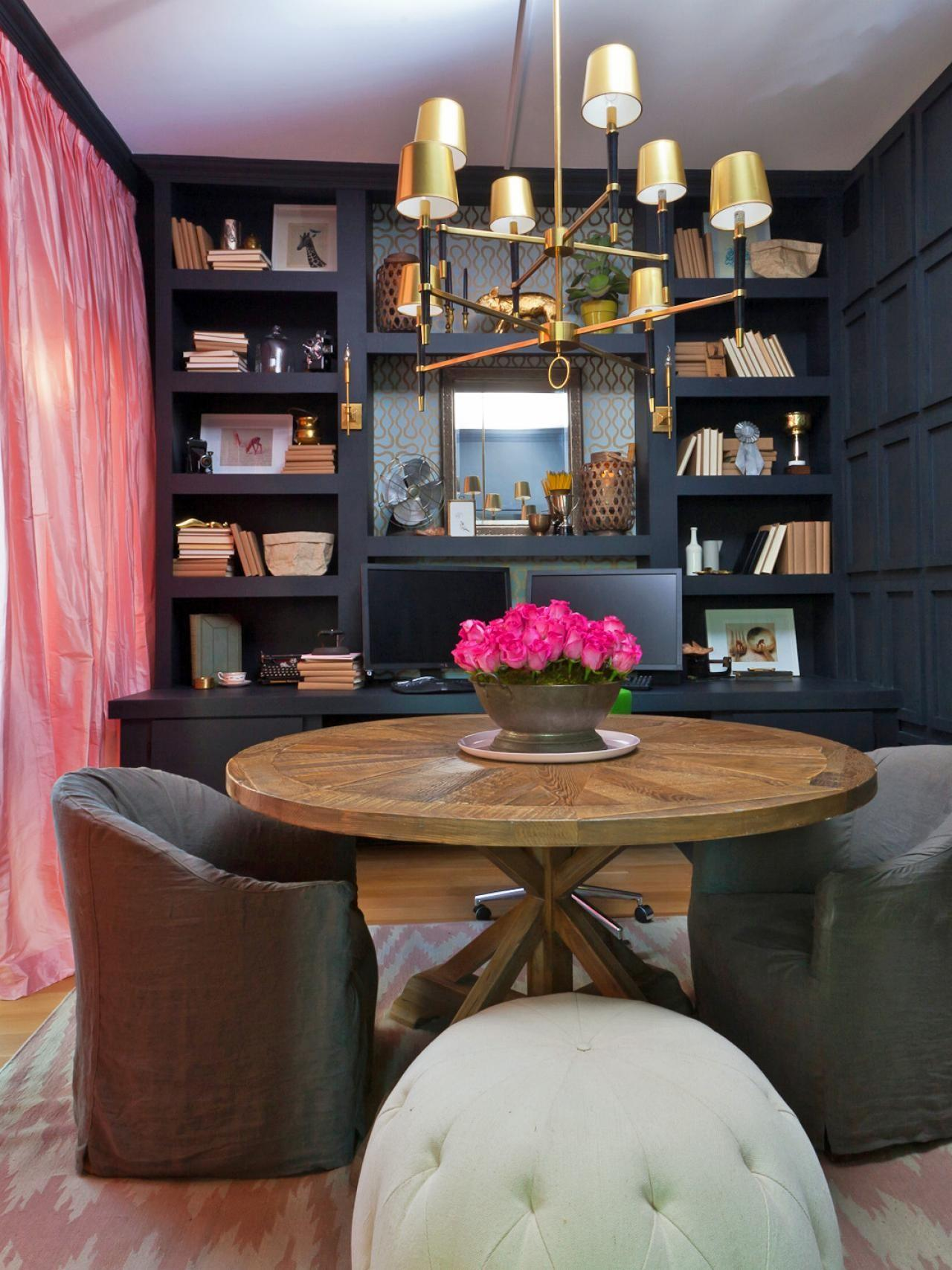 Marvelous Reading Room Home Vintage Library Ideas