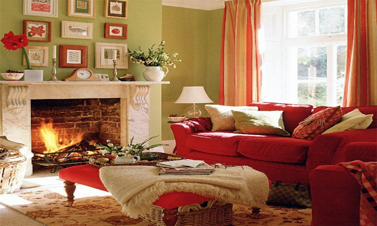 Marvelous Red Green Living Room Remodel Home