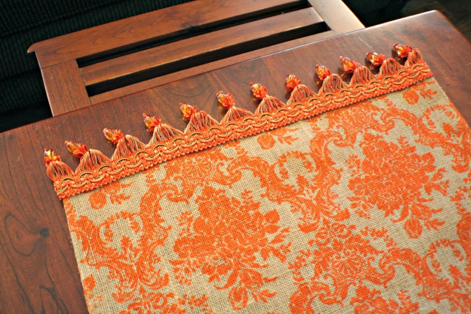 Marvinsdaughters Diy Autumn Table Runner