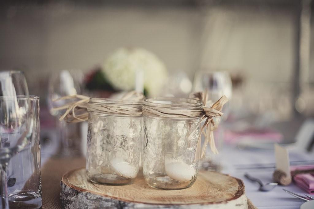 Mason Jar Candle Holders Cool Upcycling Projects