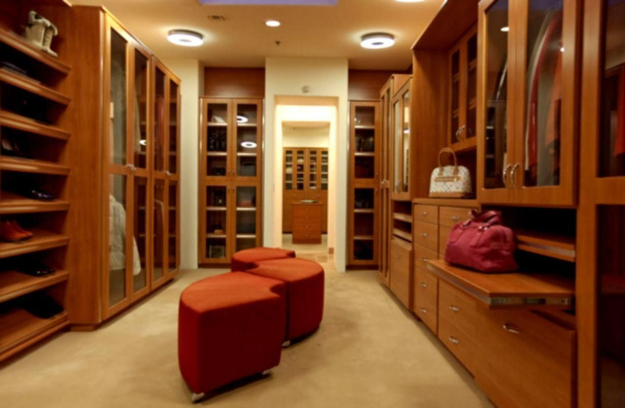 Master Bedroom Closet Systems Creamy Wall Paint Color