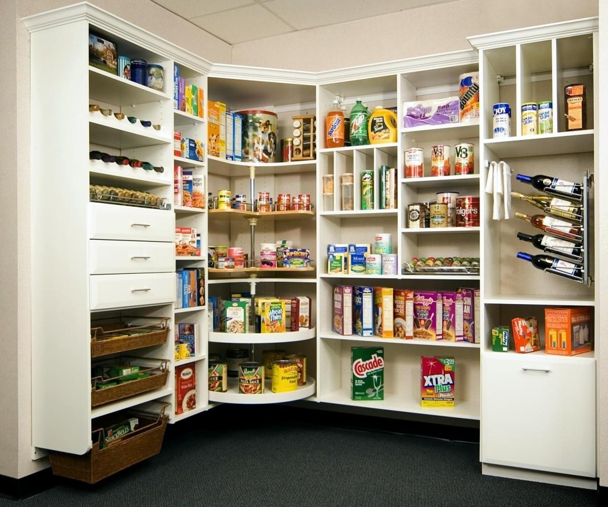 Masterly Pantry Shelving Open Kitchen