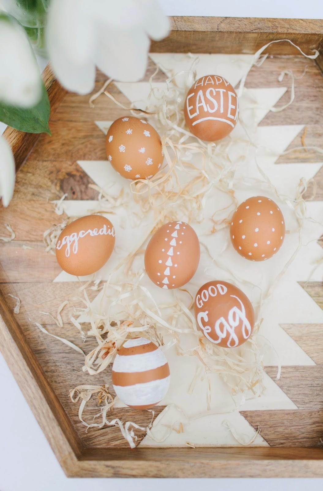 Match Your Chic Mani Easter Eggs Diy