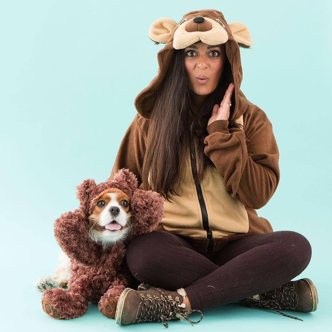 Matching Owner Dog Costumes Pet Rifyingly Cute