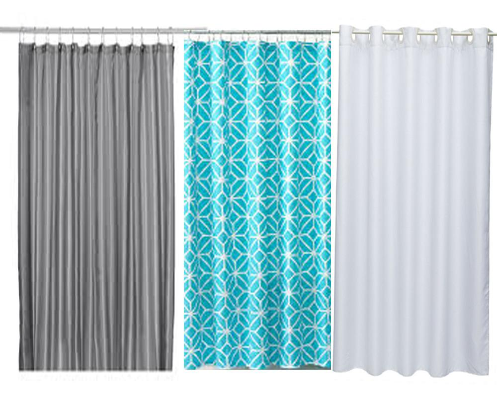Material Shower Curtains Made Curtain