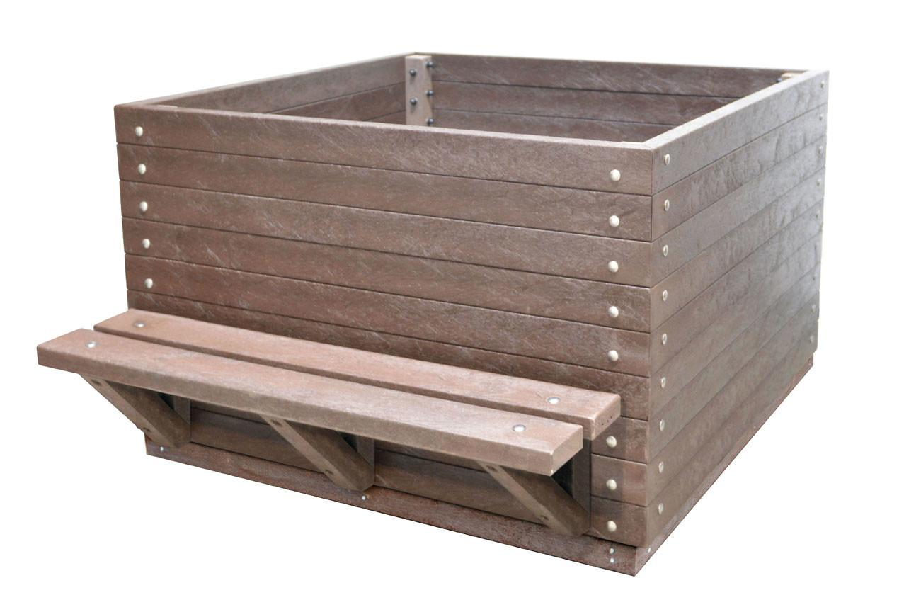 Matlock Commercial Planter Recycled Plastic Furniture