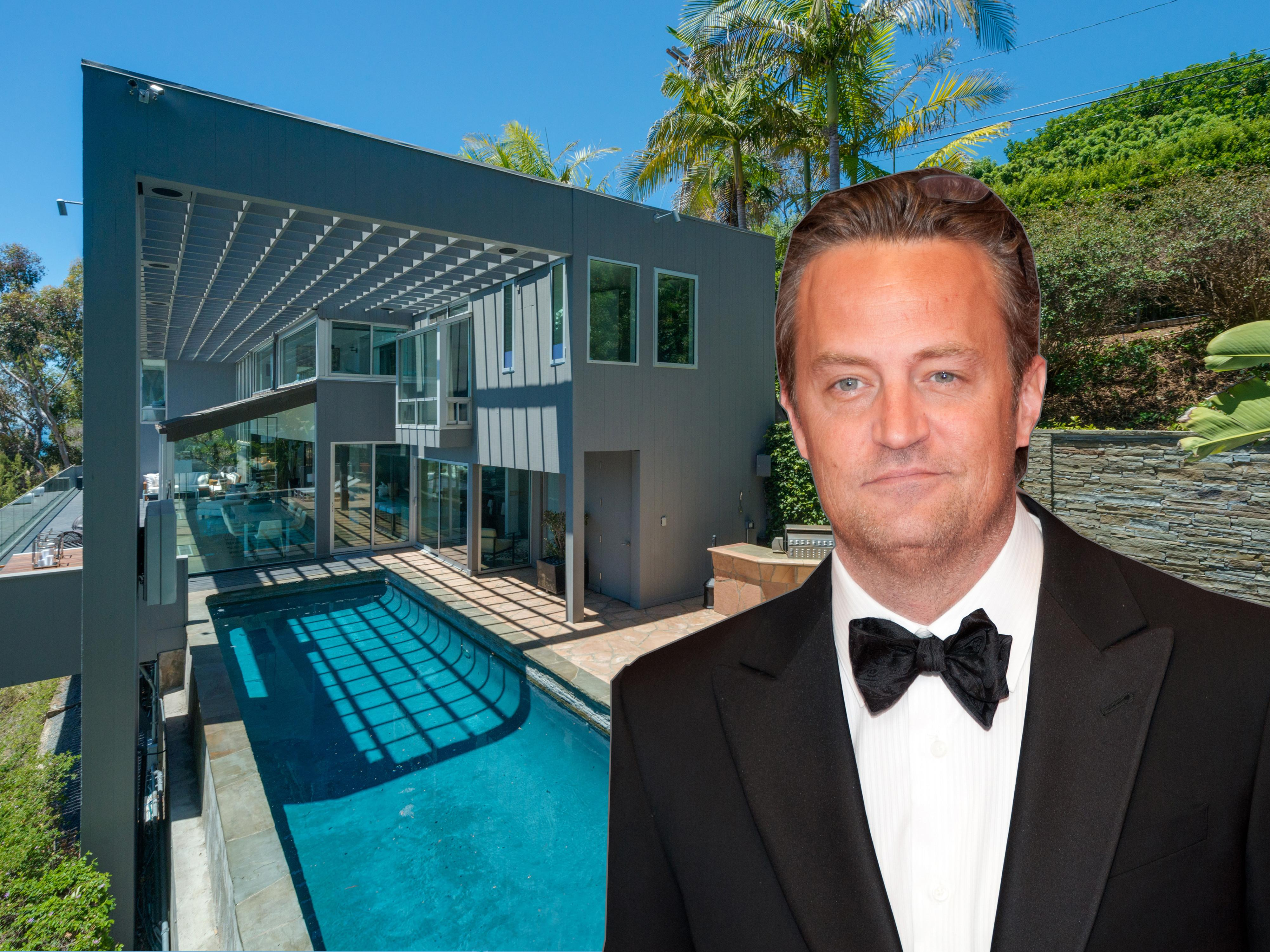 Matthew Perry Has Sold His Malibu Mansion Business Insider