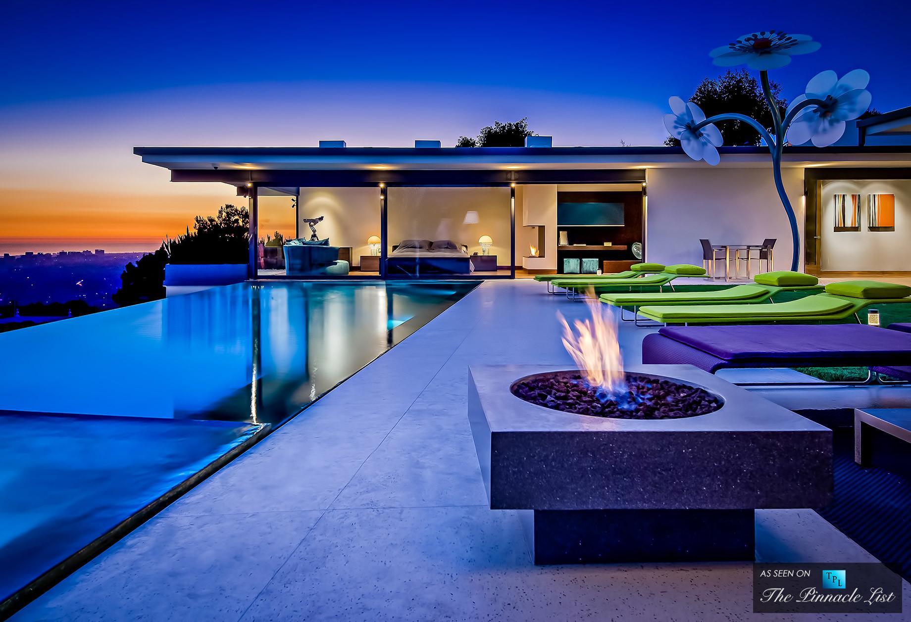 Matthew Perry Residence 9010 Hopen Place Los Angeles
