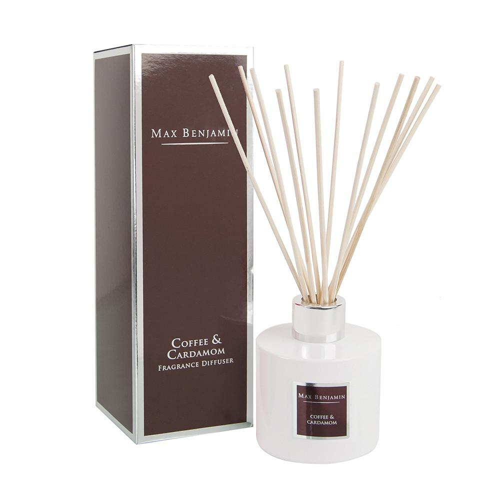 Max Benjamin Reed Diffuser Coffee Cardamom Gay