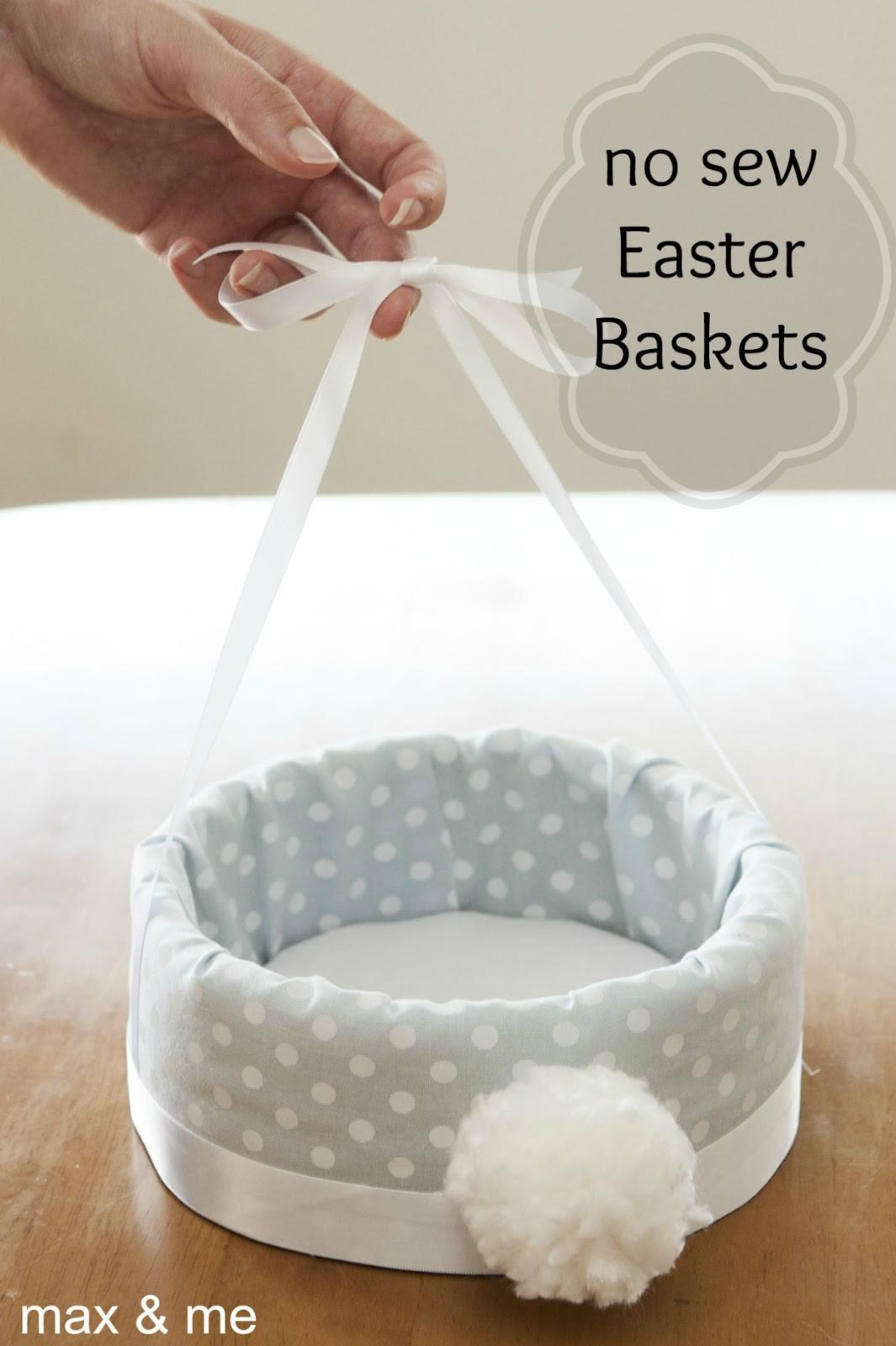 Max Sew Easter Baskets