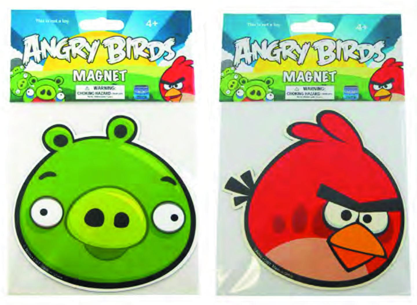 May Angry Birds Flat Magnet Asst Previews
