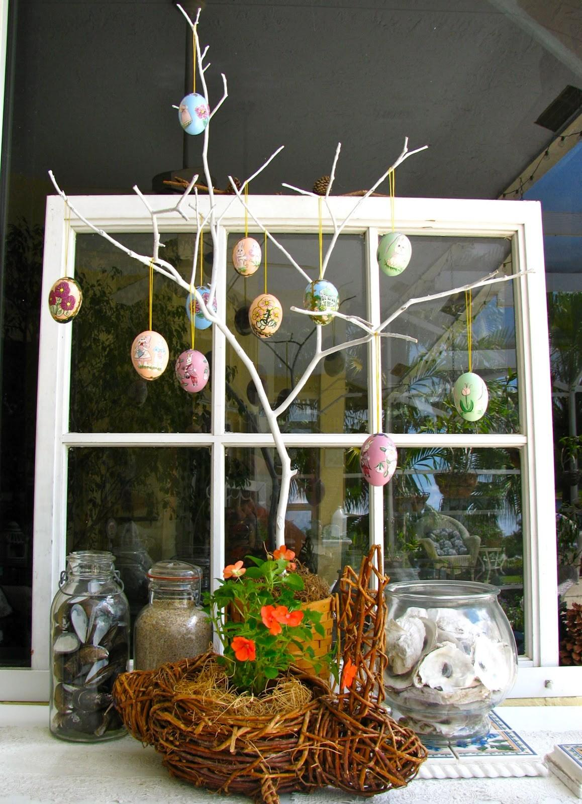 May Days Diy Easter Egg Tree