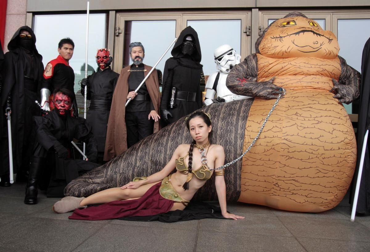 May Fourth Fans Get Into Costume Star