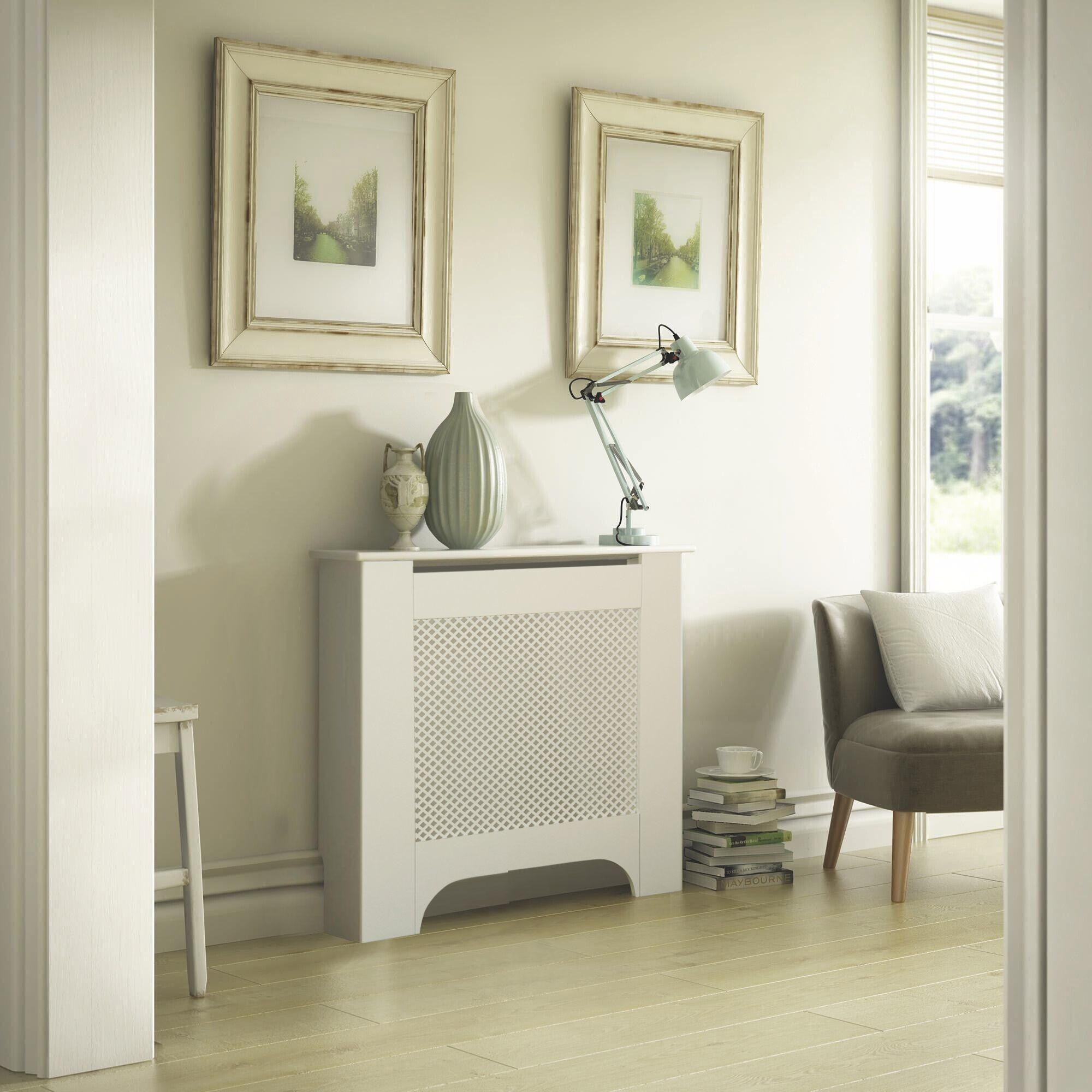 Mayfair Mini White Painted Radiator Cover Departments