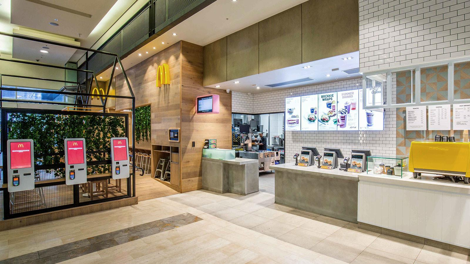 Mcdonald Bondi Junction Sydney Juicy Design