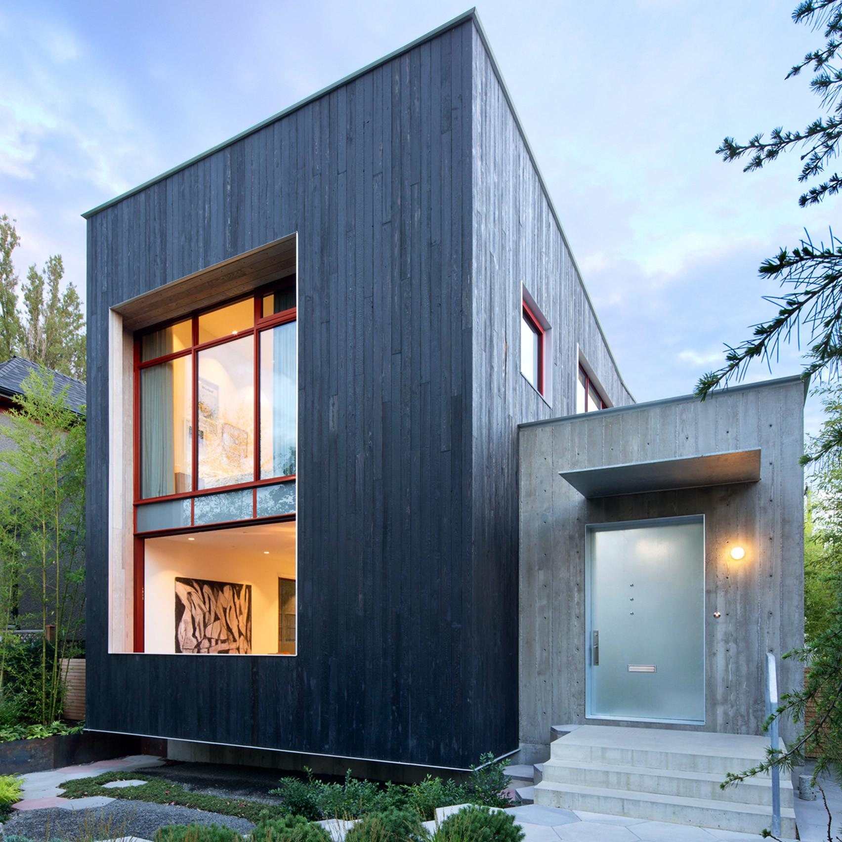 Measured Architecture Incorporates Green Roofs Living