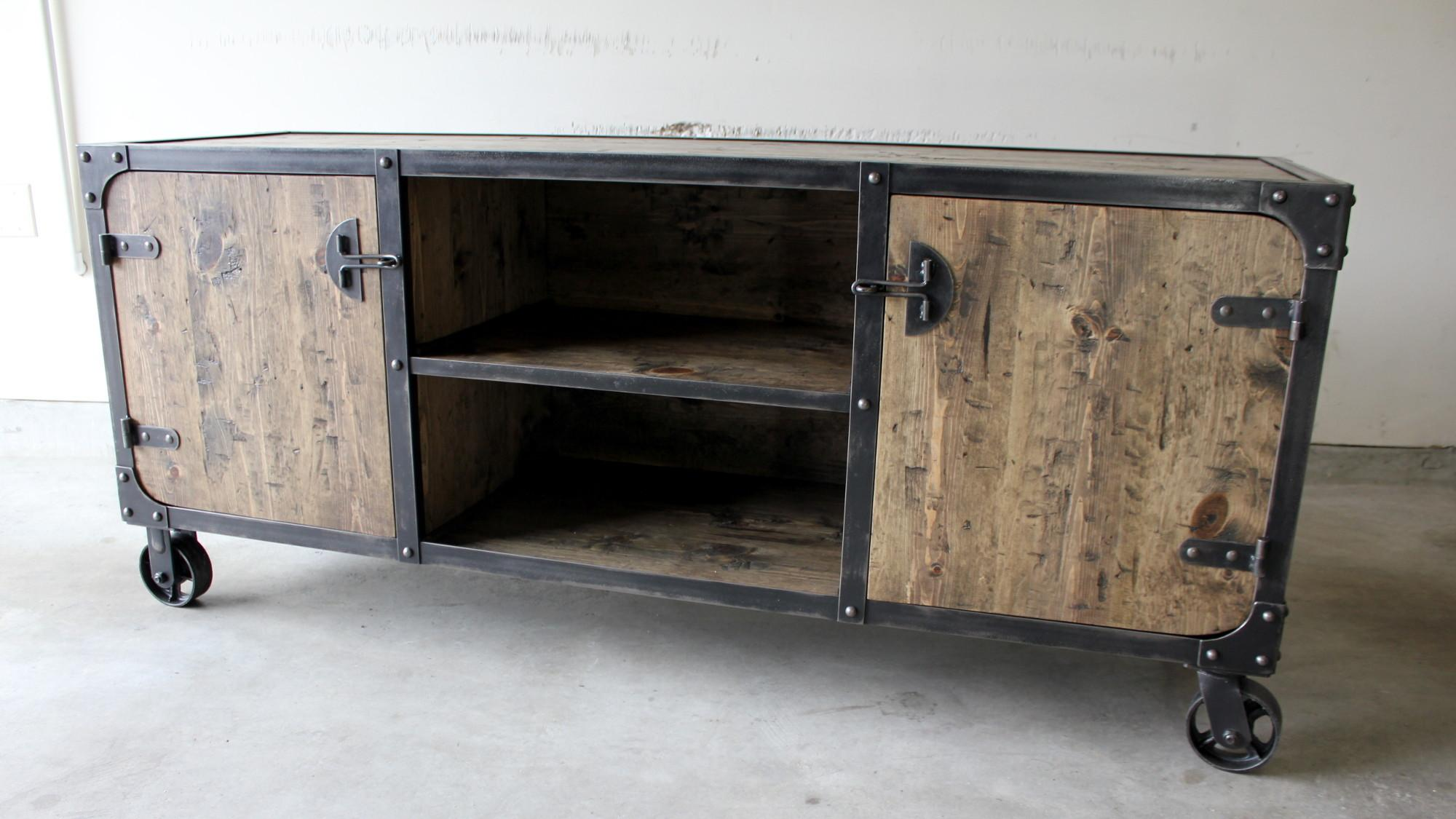 Media Consoles Modern Industrial Furniture