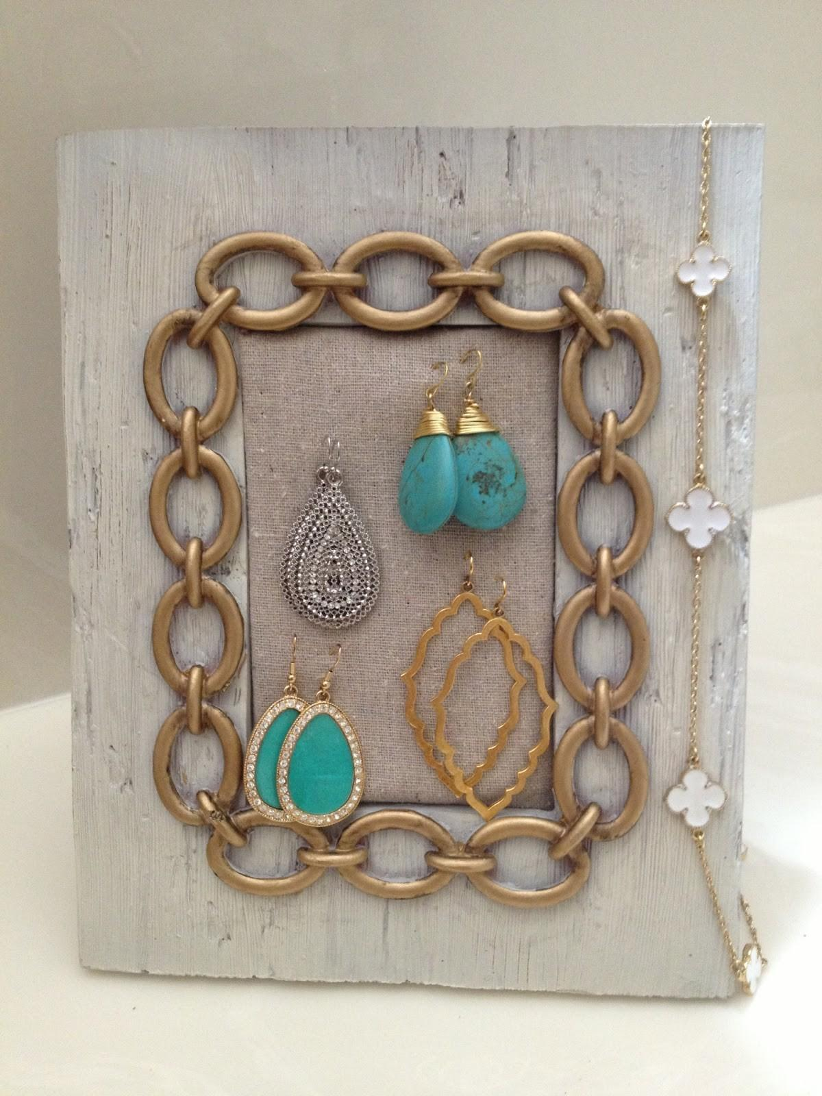 Mediterranean Inspired Diy Jewelry Holders