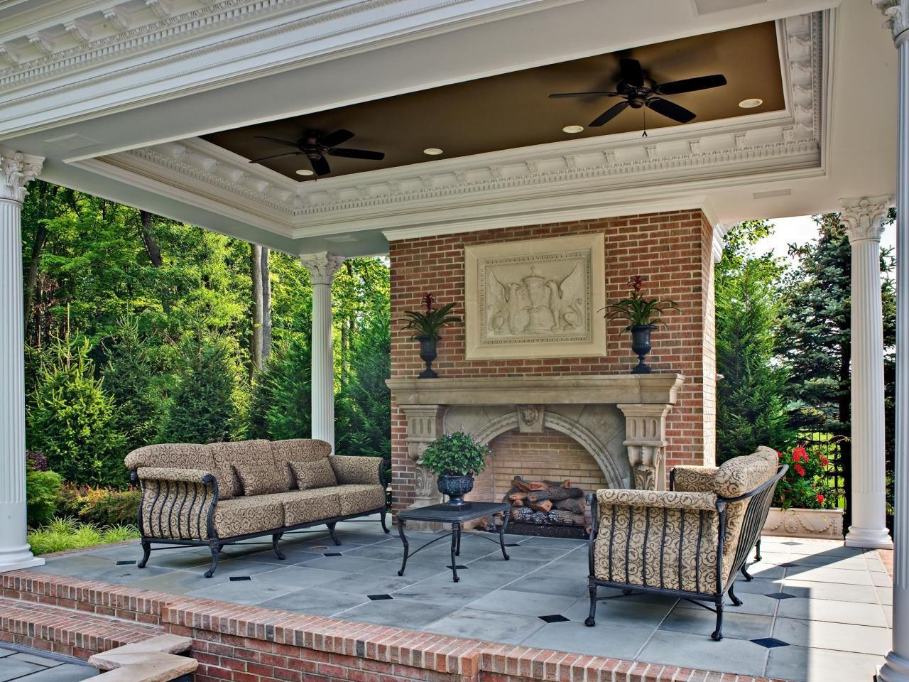 Mediterranean Makeover Pool Outdoor Living Space