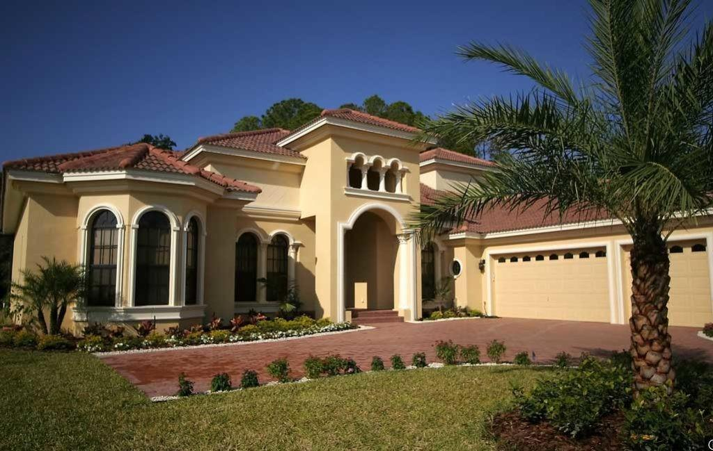 Mediterranean Style Homes Garage Design Ideas
