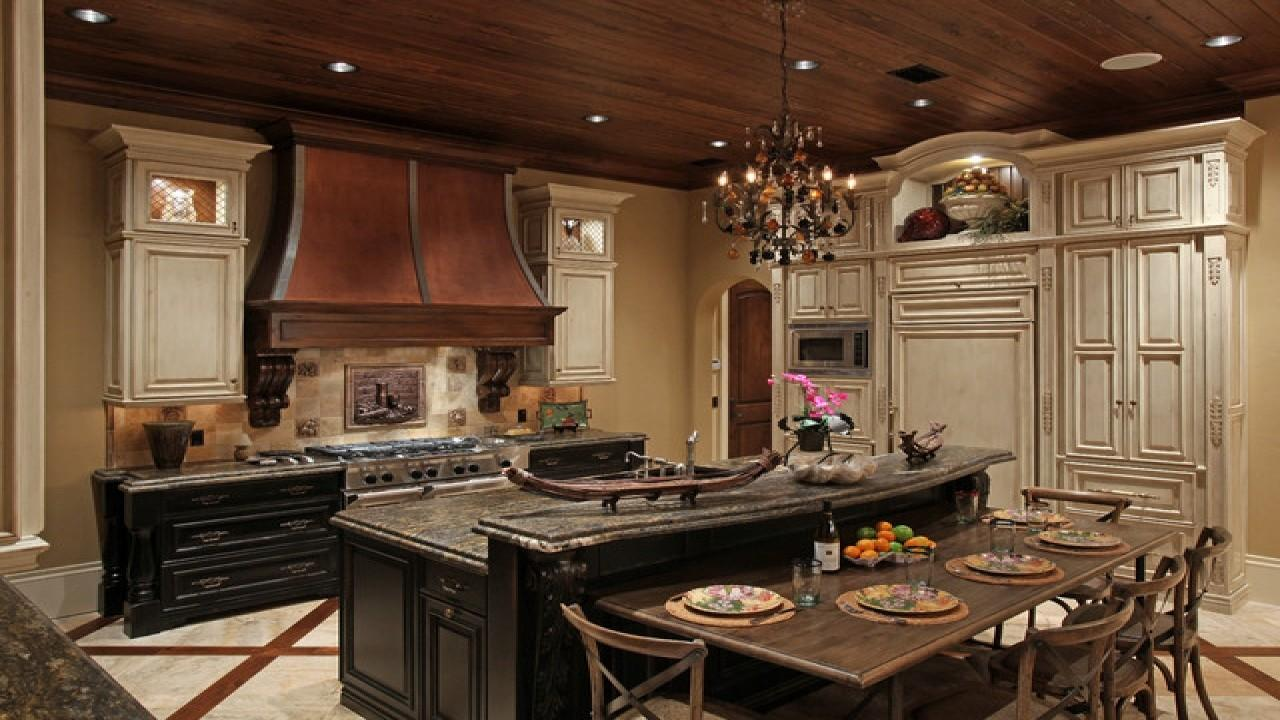 Mediterranean Style Kitchen Design