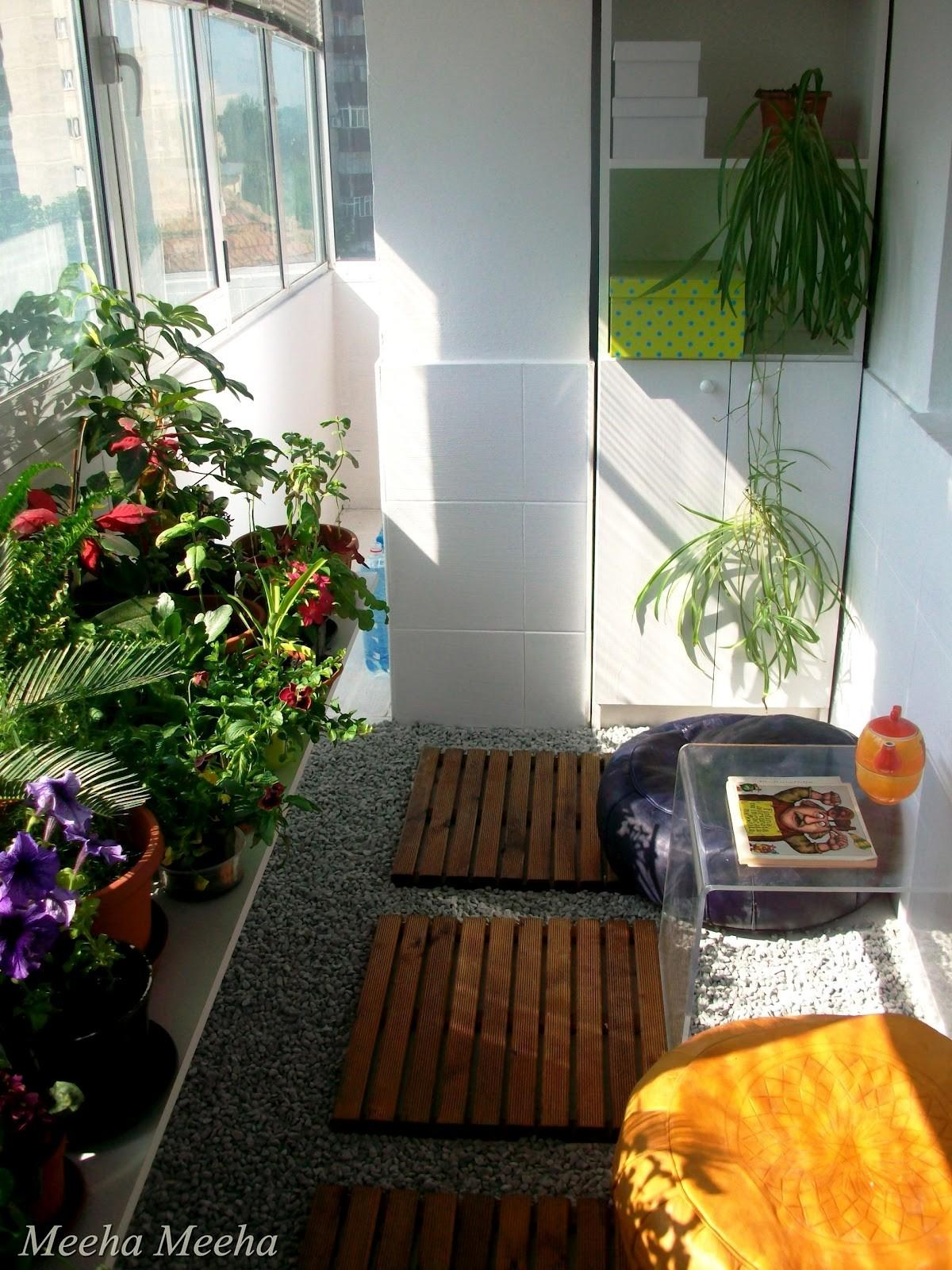 Meeha Before After Small Balcony