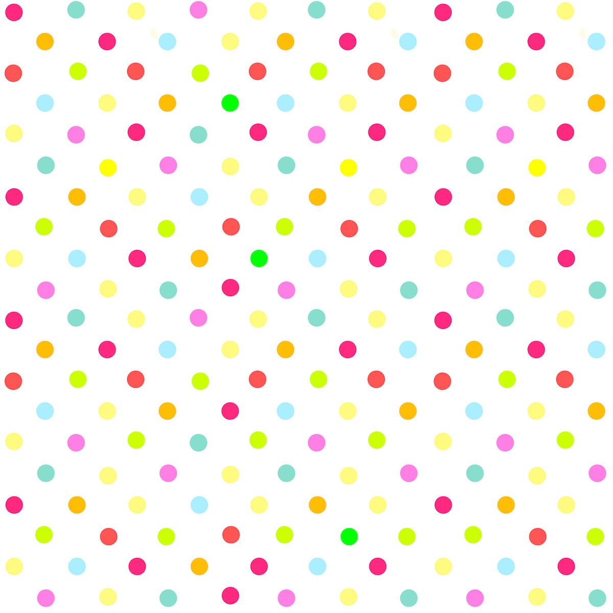 Meinlilapark Digital Multicolored Polka Dot