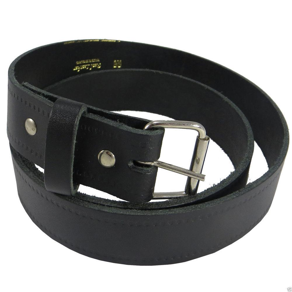 Mens Fashion Real Leather Casual Stylish Jeans Waist Belt