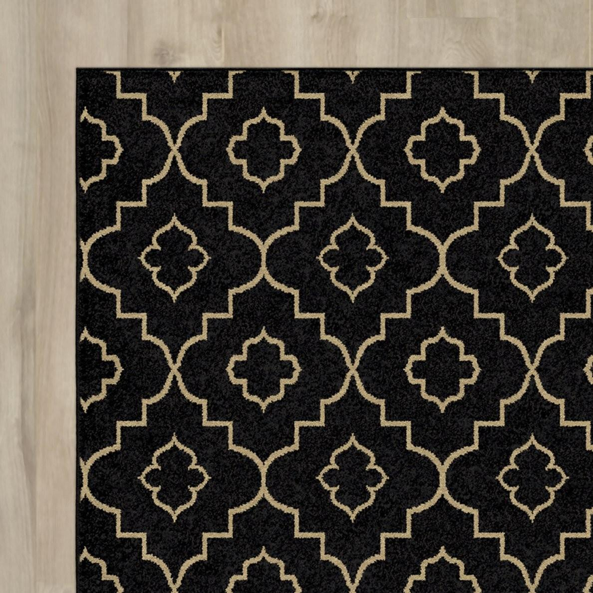 Mercer41 Burford Brown Beige Indoor Outdoor Area Rug