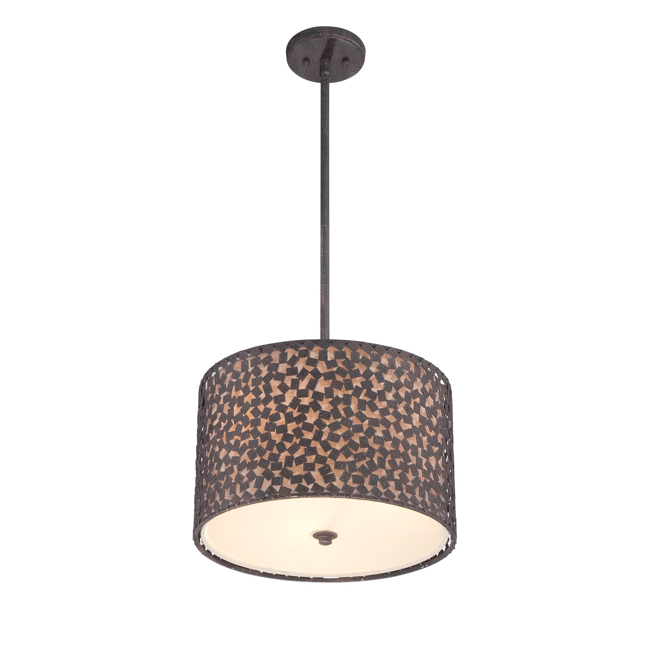 Mercer41 Whitby Light Drum Pendant