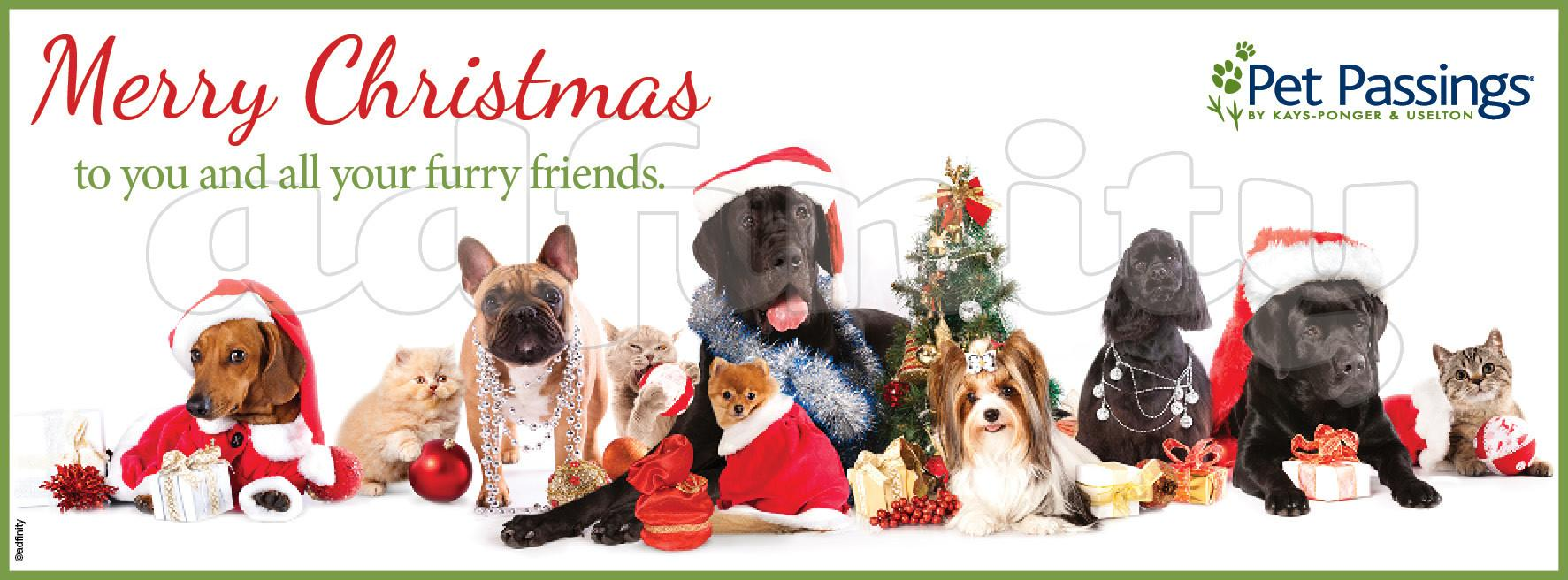 Merry Christmas All Your Furry Friends