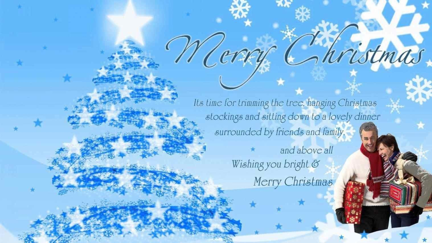 Merry Christmas Friends Wishes Happy