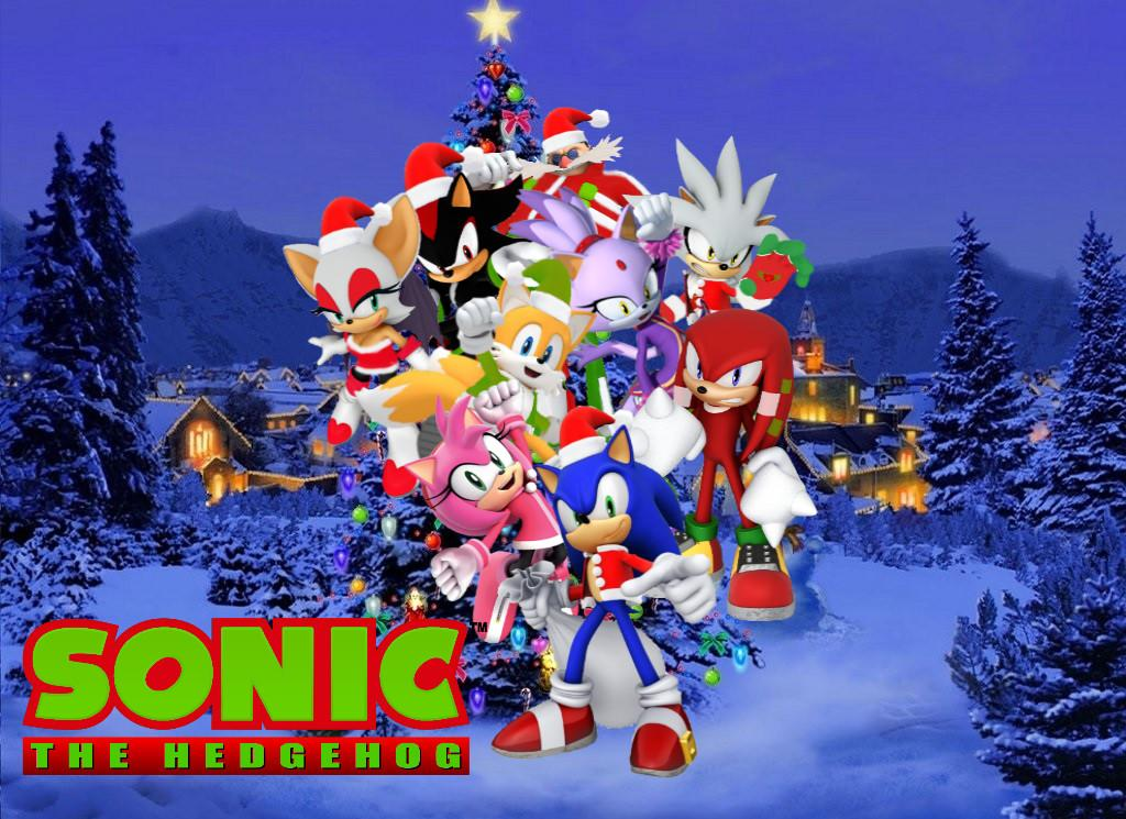Merry Christmas Sonic Friends