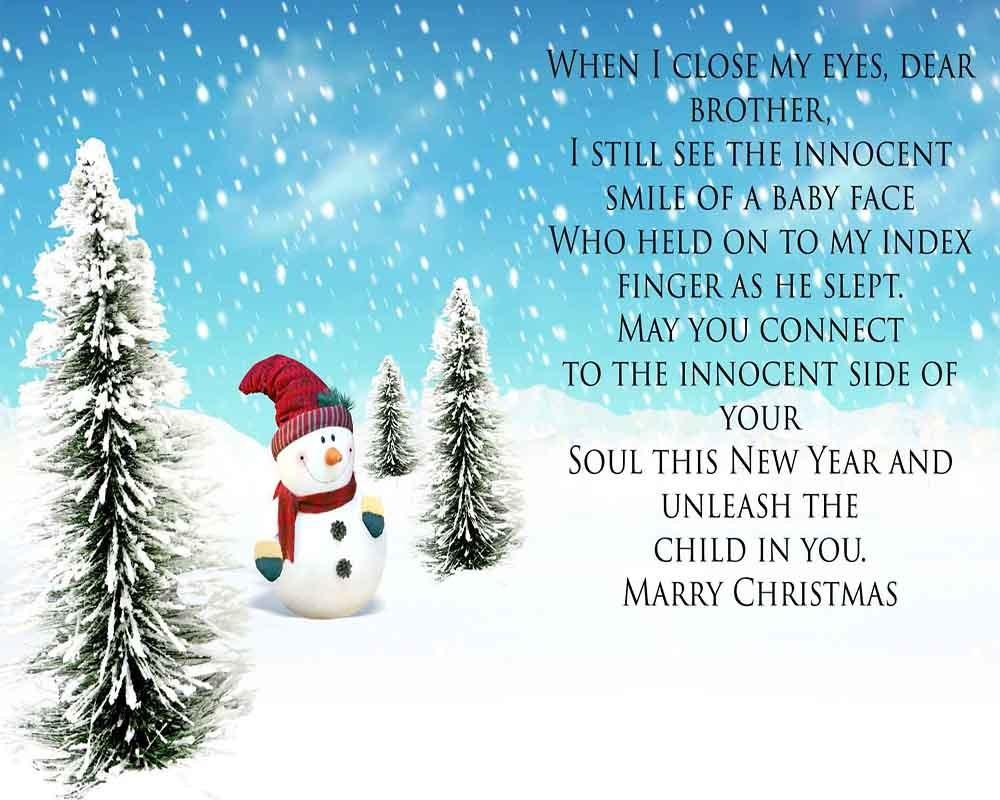 Merry Christmas Wishes Dear Friend